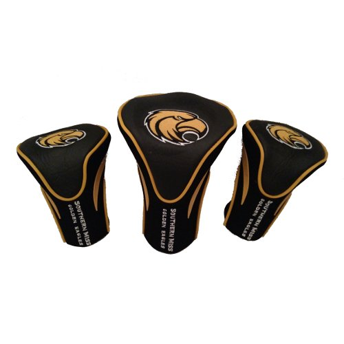 (Southern Mississippi Set of 3 Golf Club Head Covers)