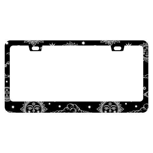 stars license plate frame - 5