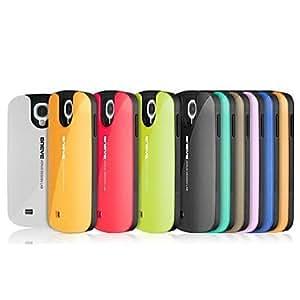 conseguir Prevenir Roto Funda de silicona para Samsung Galaxy S4/I9500 (colores surtidos) , Amarillo