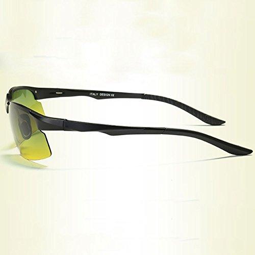 Beam Pesca Light Conducción 1 Gafas Conductor de Nocturna de Anti DT Sol para Gafas High Visión de polarizadas Color Hombre Gafas Gafas Pesca RXpxqHAF