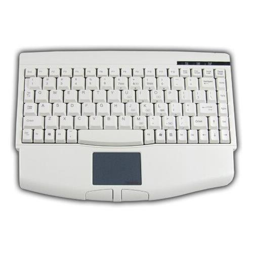 (Adesso ACK-540UW USB Mini Keyboard with Touchpad White)