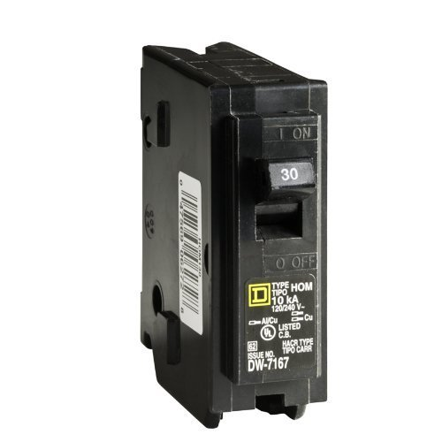 Square D by Schneider Electric HOM130CP Homeline 30 Amp Single-Pole Circuit Breaker by Square D by Schneider Electric by Square D by Schneider Electric