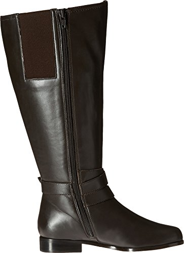 B Boot Nappa Brown 5 Rose M 4 Women's Tristan Extra Petals Wide nXqXBY0PO