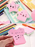 Sticky Notes, Self-Stick Notes in Different Shapes, Colorful Super Sticky Notes,100 Sheets/Pad for Students, Home, Office, Easy Post
