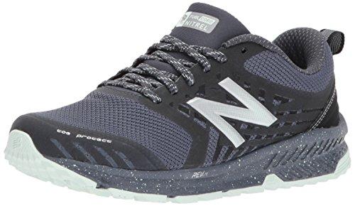 New Balance Women's Nitrel v1 FuelCore Trail Running Shoe Grey/Black sale nicekicks BOuDWG173