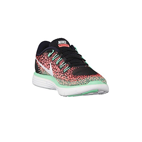 Nike Wmns Free Rn Afstand - 827116010 Sort / Hvid-lyse Mango-grøn Glød C95pS