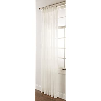 Charmant Stylemaster Splendor Pinch Pleated Patio Window Panel, 96 By 84 Inch, Beige
