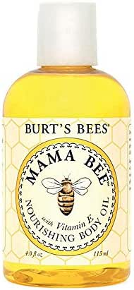 Burt's Bees 100% Natural Mama Bee Nourishing Body Oil - 4 Ounce Bottle
