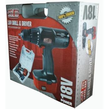 Solid 18V Drill & Driver
