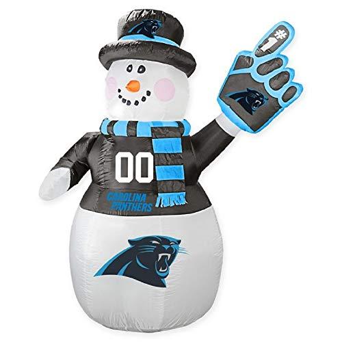 Boelter Brands NFL Carolina Panthers Inflatable Snowman, 7ft