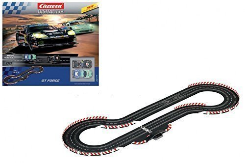 Carrera Digital 132 GT Force 1/32 Scale Slot car race set
