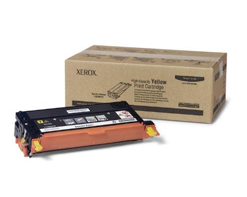 (Xerox 6180 Toner Cartridge High-Capacity (Yellow,1-Pack))
