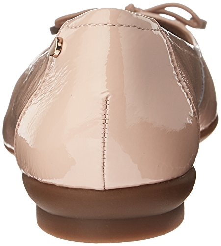 CLARKS Damen Candra Light Flat Dusty Pink Patent