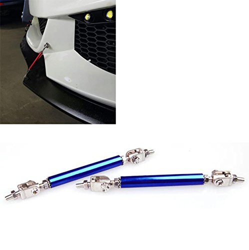 "Blue 8/"" Adjustable Rod Support for Ford Bumper Lip Diffuser Spoiler splitter"
