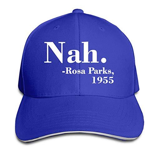 William A Magee7 Unisex Rosa Parks Nah Comfortable Sunbonnet Blue (Sun Nah)