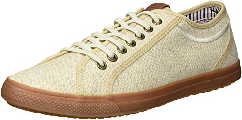 Ben Sherman Men's Chandler Lo Sneaker, Natural, 10.5 M US ()