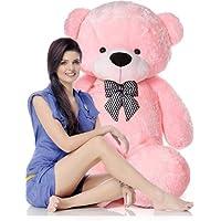 Mrbear Lovable/Spongy 7 Feet Large Cute Teddy Bear for Kids & Girls Special Gift for (Pink)