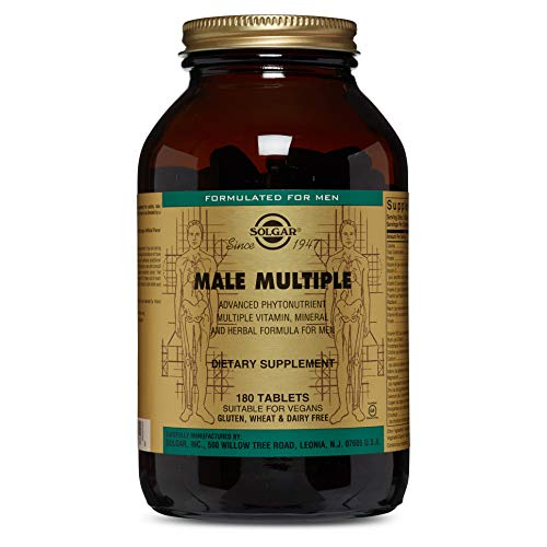 Solgar - Male Multiple, 180 Tablets