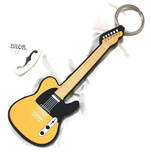 福山雅治 ファンクラブ 20周年記念入会特典 ギターキーホルダー & BROS.20周年記念ピック キーホルダー