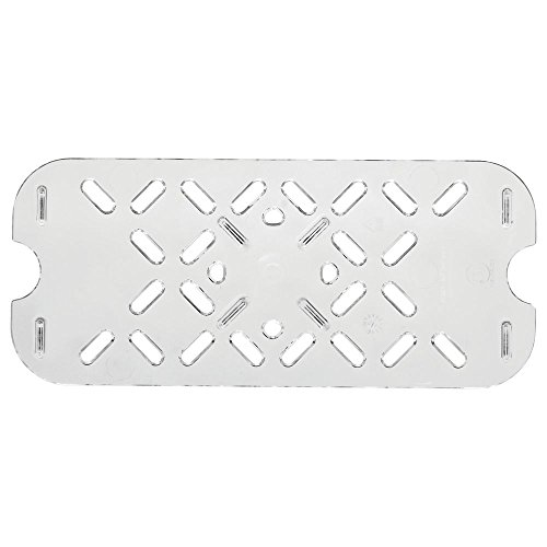 (Vollrath 1 B06Y6KW8K6 Super Pan Plastic Low-Temperature False Bottom-1/3 Size, 1 Clear)