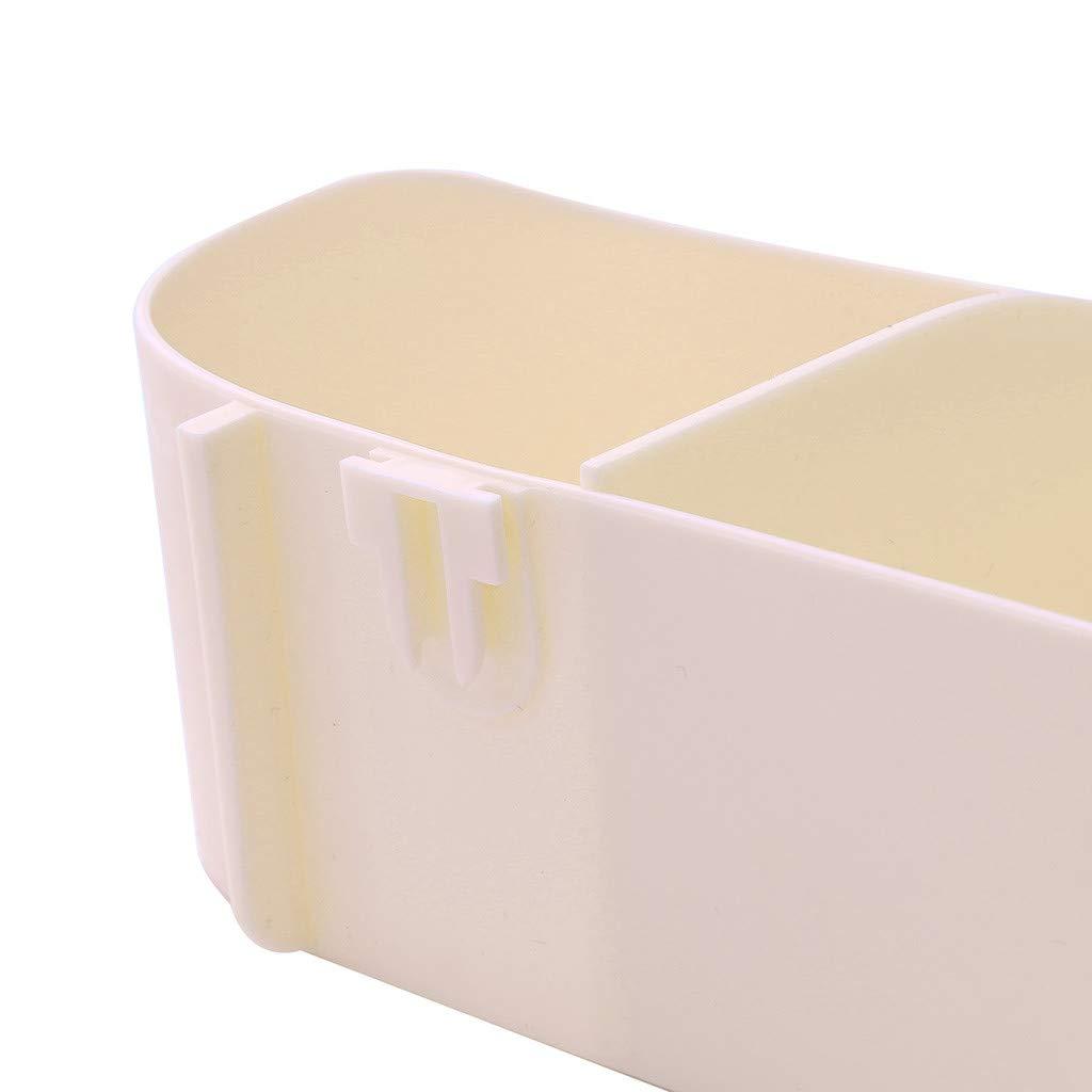 AGUIguo Plastic Bathroom Kitchen Corner Storage Rack Organizer Shower Shelf (Beige) by AGUIguo bathroom products (Image #6)