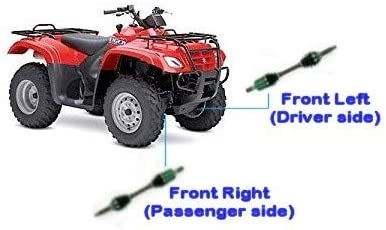 54902-38F22 LT-F400F LT-A400F Eiger 4x4 Auto 2007 Suzuki Eiger 400 4x4 CV Axle Genuine Suzuki OEM ATV axles Front Left