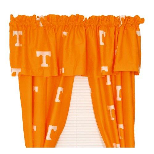 NCAA Tennessee Vols Drape Valance Set Long Collegiate (Tennessee Vols Drape)