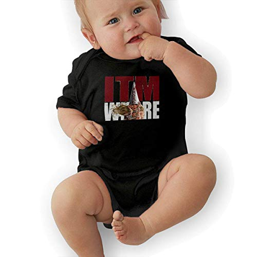 - Infant Jersey Bodysuits in This Moment Maria Brink Whore Newborn Babys 0-24M Organic Cotton Trottie Outfit Black