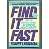 Find It Fast, Robert I. Berkman, 0060964863