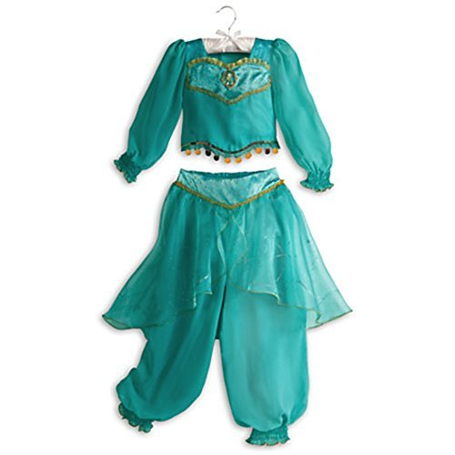 [Disney Store Jasmine Aladdin Halloween Costume Size M Medium 7 - 8] (Jasmine And Aladdin Costumes)