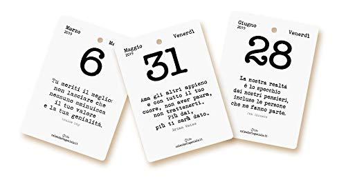 Calendario Frasi Giornaliere.Calendario Geniale 2019 Leggi La Frase Del Giorno