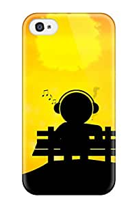 High-quality Durable Protection Case For Iphone 4/4s(music Art )