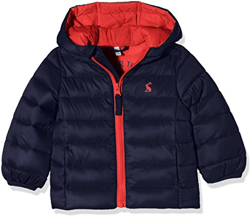 Joules Baby Boys' Cairn Padded Coat, French Navy, 2-3 Years by Joules