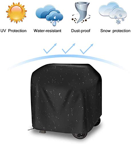 Grill Cover,Waterproof BBQ Cover with Sealed Seam,Waterproof Barbecue Gas Grill Cover for Most Brands of Grill, Special Fade and UV Resistant Material, Waterproof Weather Resistant 41\