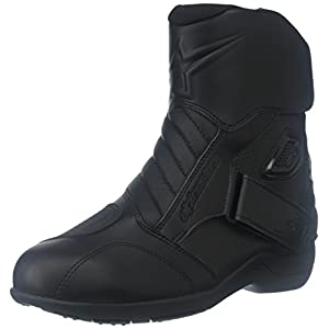 Alpinestars Gunner Waterproof Men's Street Motorcycle Boots (Black, EU Size 46)