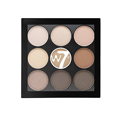 W7 The Naughty Nine Shades of Eye Colour Eyeshadow Palette-A