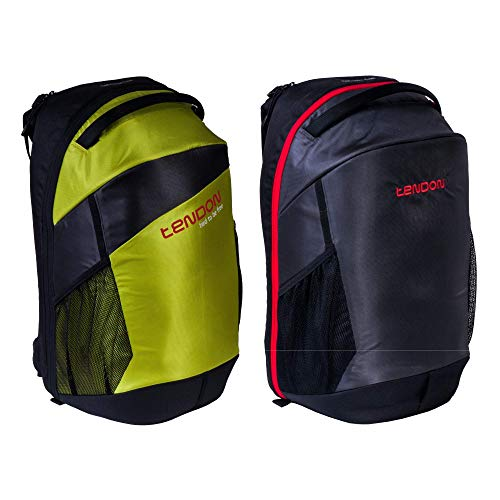 (Tendon Rock Climbing Backpack - 45L Climbing Gear Bag & Built-In Rope Tarp & Sitting Pad - with Padded Back & Adjustable Hip Belt & Sternum Strap - Unisex Polyester Mountaineering Rucksack (Green))