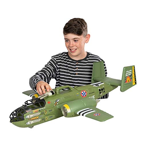 The Corps Elite New Beast Bomber Super Command Transport And Figure Kids Fun Playset