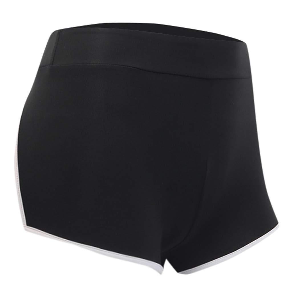 Sunyastor Women Running Shorts Workout Yoga Short Pants Athletic Jogger Booty Shorts Elastic Waist with Drawstring
