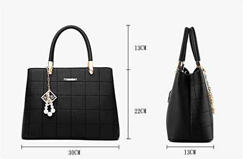Tide Blue Bags Handbags Red Square Bags Fashionable Women's Bao Light Pu Shoulder n7qwPAxYH8