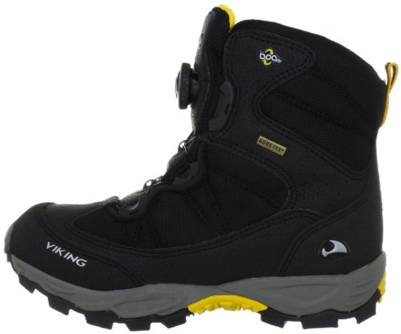 Viking  BOULDER BOA Gore-Tex® Snow Boots Unisex-Child  Black Schwarz (black/silver 246) Size: 28