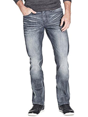 GUESS Factory Men's Delmar Slim Straight (Guess Indigo Jeans)