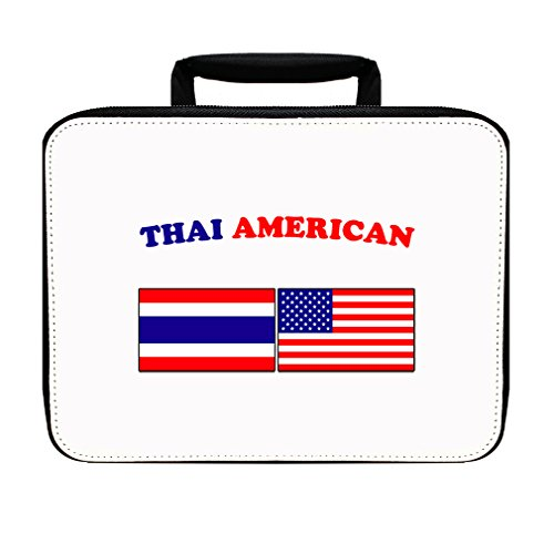 Thai American Insulated Lunch Box Bag by Style in Print