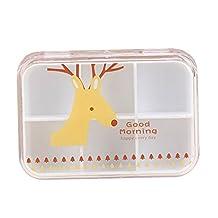 Set of 2 Deer - Cute Pill Box Pill Organiser Pill Cases