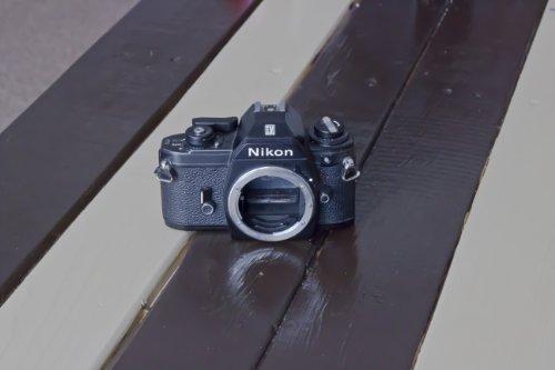 Nikon EM SLR film camera (body only, no lens)