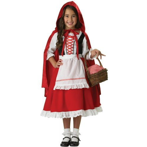 InCharacter Costumes Girls 2-6X Little Red Riding Hood Dress Set, Small