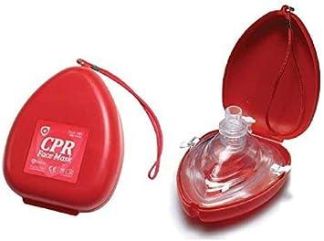 POCKET CPR RESUSCITATION FACE MASK by Crest Medical