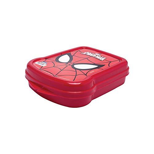 Sanduicheira Homem Aranha Plasútil Vermelho Plástico