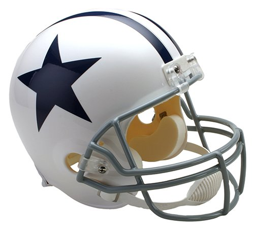 Dallas Cowboys 1960-1963 Throwback Riddell Full Size Deluxe Replica Football Helmet - New in Riddell Box (Dallas Cowboys Deluxe Replica Helmet)