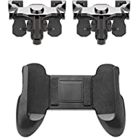 Blendia PUBG Gamepad/Metal Trigger Gaming Accessory Kit (Black, for Mobile) Gaming Accessory Kit (Black, for Android, iOS)
